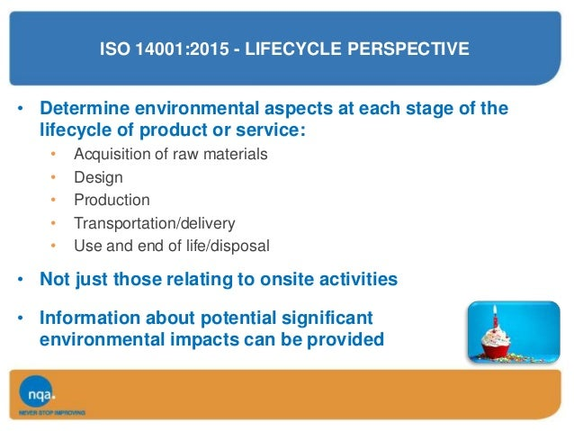 environmental aspects register template - certification body approach to iso 9001 2015 by nqa