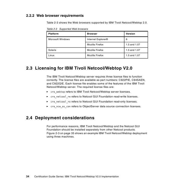 Certification guide series ibm tivoli netcool webtop v2 0