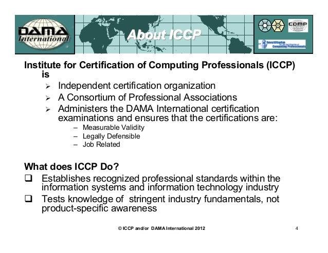Certification In Data Management