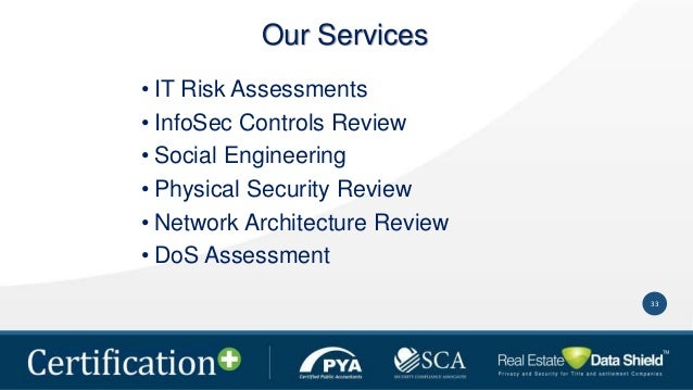 Certification The Most Comprehensive Compliance Solution