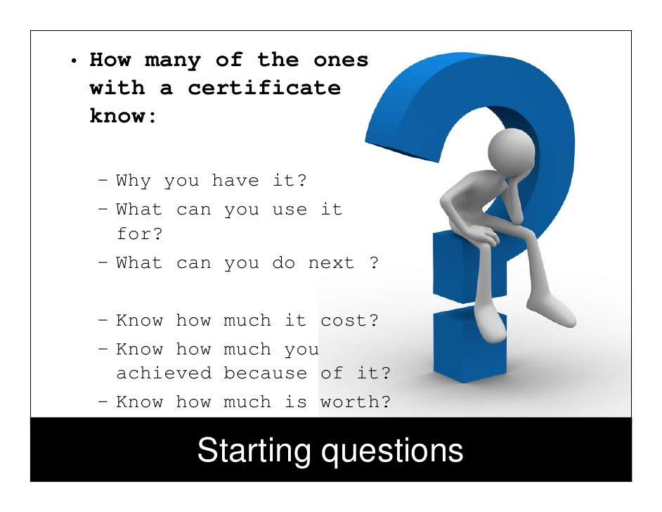 Itil Iso 20000 Professional Certification Myths And Realities