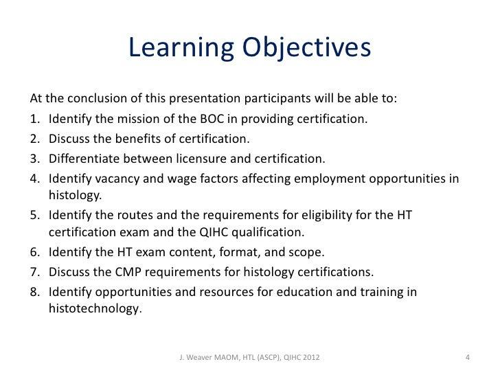 Certification Presentation Ro