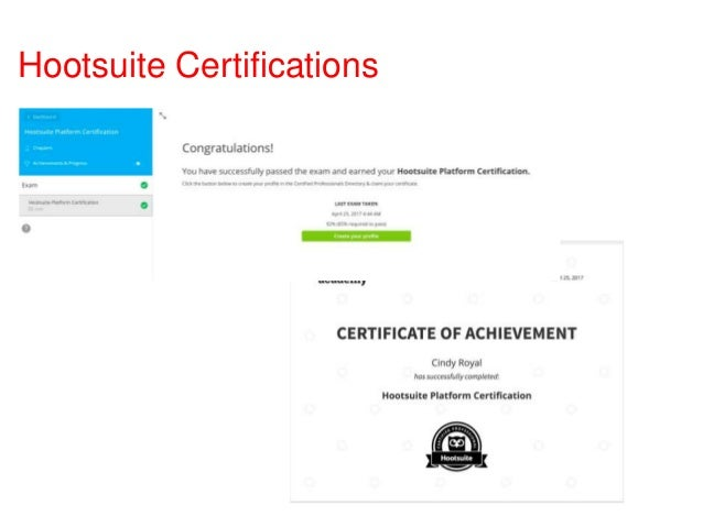 Digital and Social Certifications