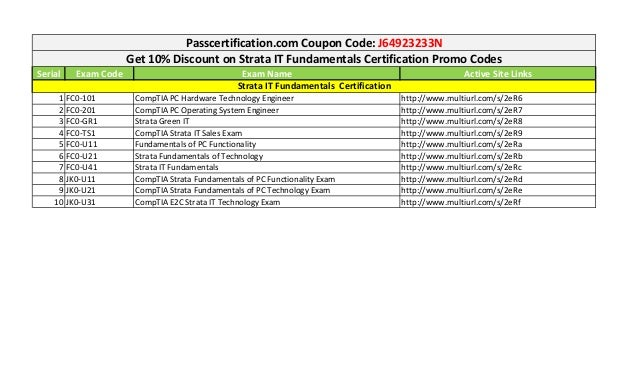 Comptia coupon code