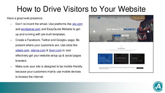 How to Drive Online Traffic & Get More New Customers - Certified Ace