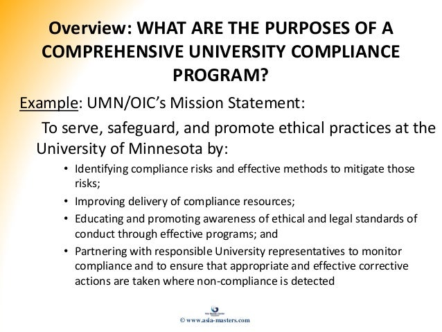 Certified compliance officer presentation slides - Insurance compliance officer job description ...