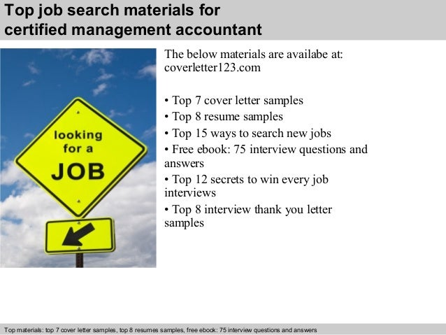 ... 5. Top Job Search Materials For Certified Management Accountant ...