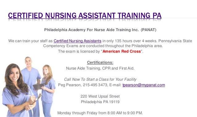 Certified Nursing Assistants in PA