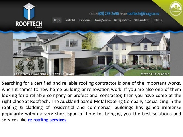 Searching for a certified and reliable roofing contractor is one of the important works,  when it comes to new home buildi...
