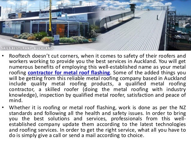 Certified Roofing Contractor Company in Auckland Slide 2