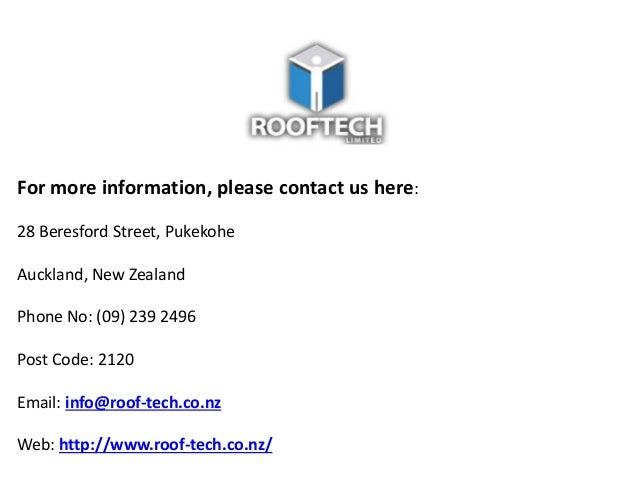 Certified Roofing Contractor Company in Auckland Slide 3