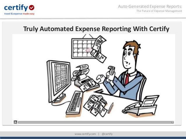 AutoGenerated Expense ReportsTrue Expense Report Automation