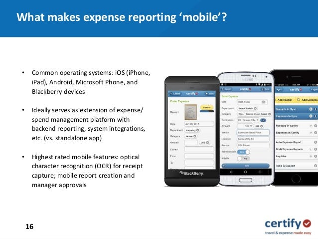 Best Practices in Mobile T&E Expense Reporting