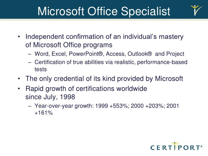 How To Put Microsoft Excel And Access Certifications On Resume