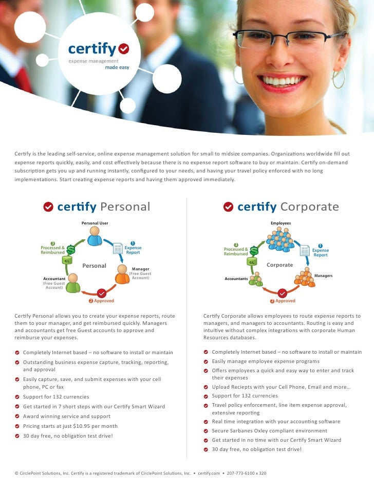 Certity Expense Management Software