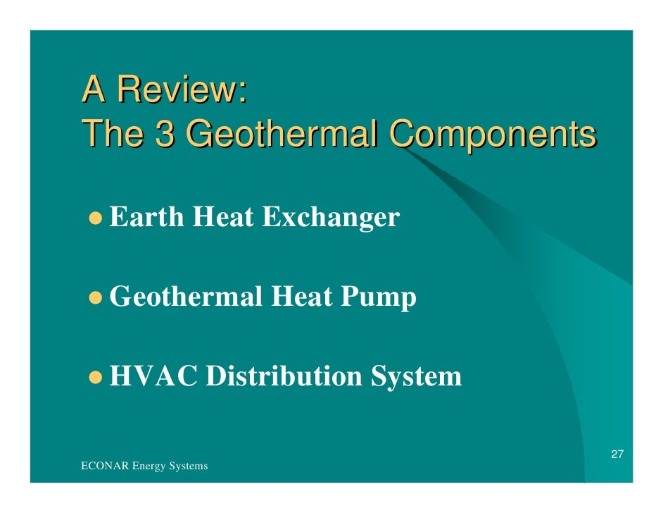 Geothermal Heat Pump Vs Natural Gas