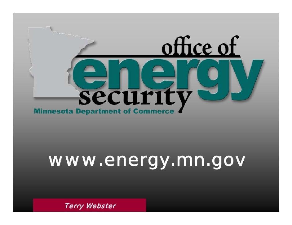 www.energy.mn.gov   Terry Webster