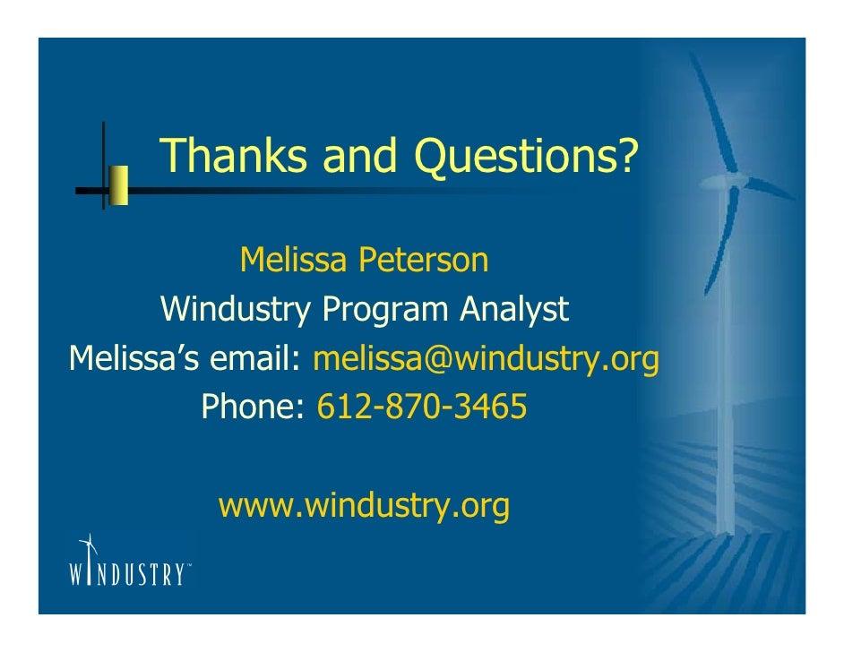 planning a small wind turbine project