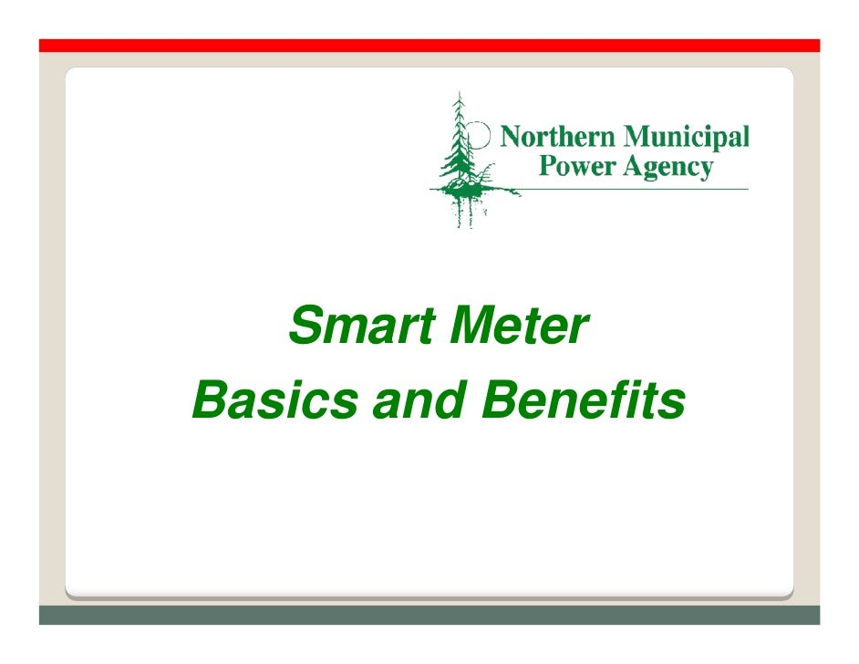 Smart Meter Basics and Benefits