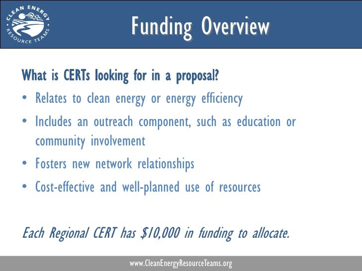 Spurring Community Energy Projects A Guide To Applying For Cert Seed