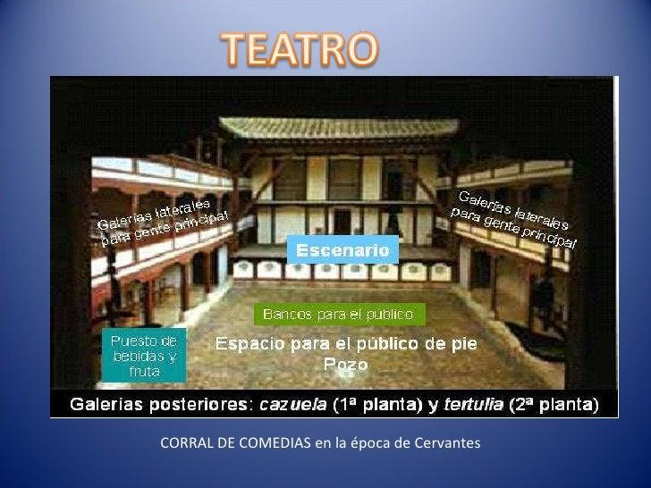 CORRAL DE COMEDIAS en la época de Cervantes