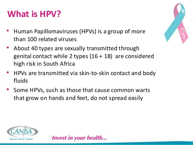 cervical cancer and hpv by cansa, Human Body