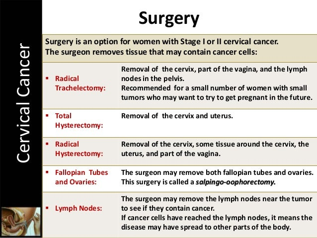 Cervical Cancer The Importance Of Cervical Screening And