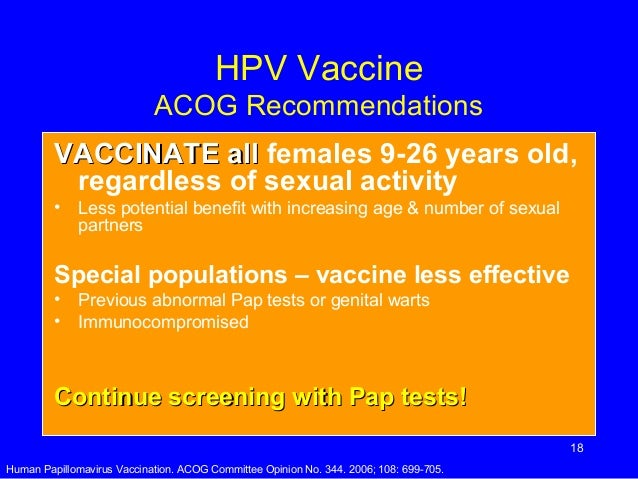 Cervical Cancer Hpv Feb07