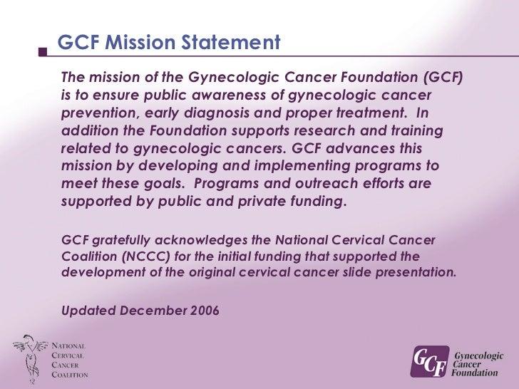 Cervical cancer educational presentation toneelgroepblik Choice Image