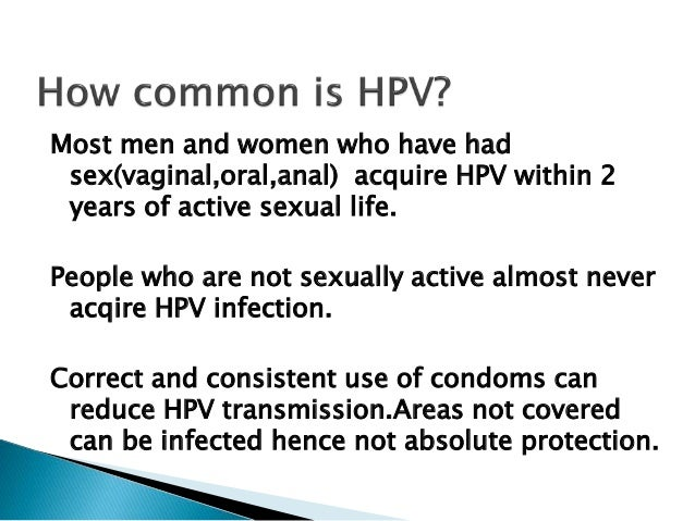 hpv screening for males