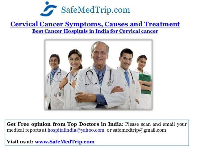SafeMedTrip.com Cervical Cancer Symptoms, Causes and Treatment         Best Cancer Hospitals in India for Cervical cancerG...