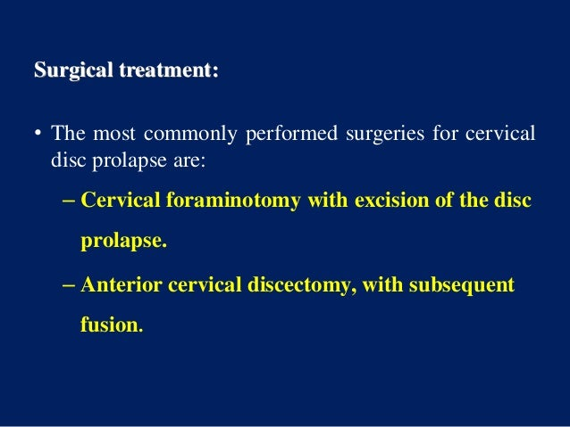 Management of cervical radiculopathy, anterior and posterior surgical approach-a comparative study