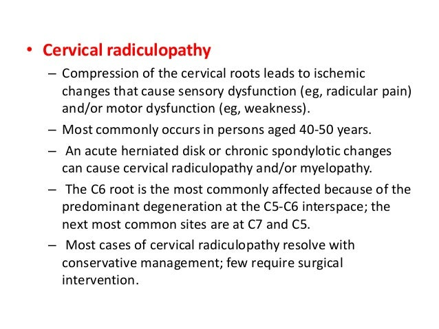 • One-third of patients with cervicalgia due to CSM present with headache and > 2/3 patients may present with unilateral o...