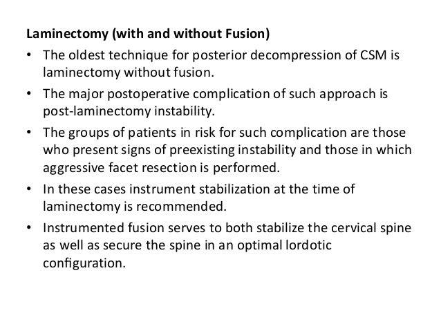 REFERENCES • Cervical Spodylosis : an update : McCormack BM, Weinstein PR: West J Med 1996; 165:43-51 • Cervical Spondylot...