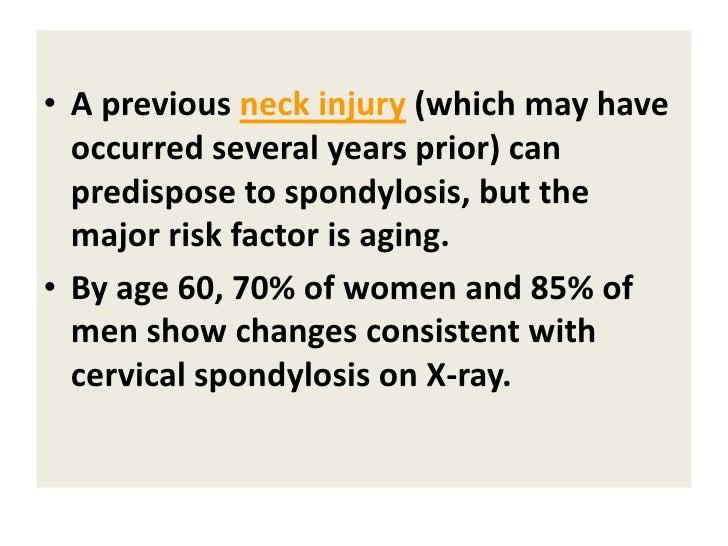 Classification & clinical findings • Cervical spondylotic radiculopathy (CSR)  • Cervical spondylotic myelopathy (CSM)  • ...