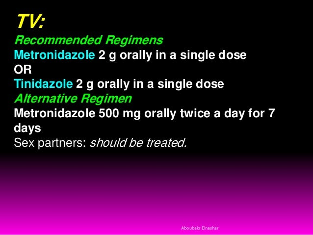 Metronidazole For Cervicitis