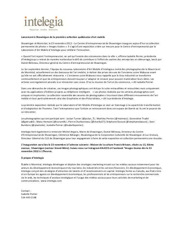 LancementàShawinigandelapremièrecollectionquébécoised'artmobileShawiniganetMontréal,le23novembre2012–Le...