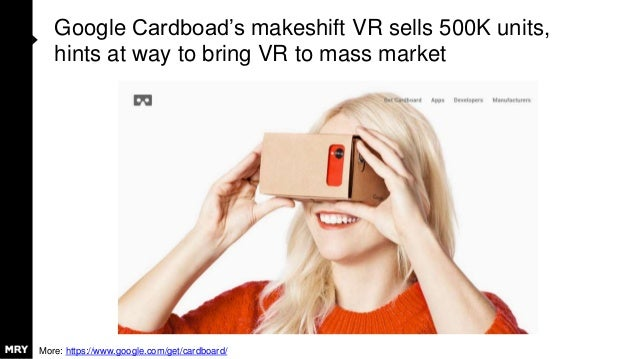 Google Cardboad's makeshift VR sells 500K units, hints at way to bring VR to mass market More: https://www.google.com/get/...