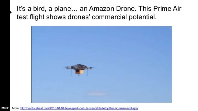 It's a bird, a plane… an Amazon Drone. This Prime Air test flight shows drones' commercial potential. More: http://venture...