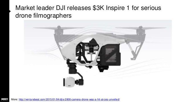 Market leader DJI releases $3K Inspire 1 for serious drone filmographers More: http://venturebeat.com/2015/01/04/djis-2800...