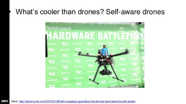 What's cooler than drones? Self-aware drones More: http://techcrunch.com/2015/01/06/with-skyspecs-guardians-the-drones-hav...