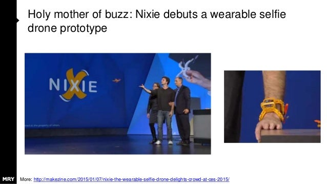 Holy mother of buzz: Nixie debuts a wearable selfie drone prototype More: http://makezine.com/2015/01/07/nixie-the-wearabl...
