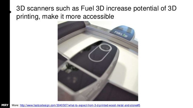 3D scanners such as Fuel 3D increase potential of 3D printing, make it more accessible More: http://www.fastcodesign.com/3...