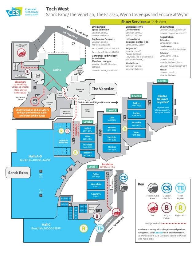 CES 2017 Show Floor Maps Ces Map on