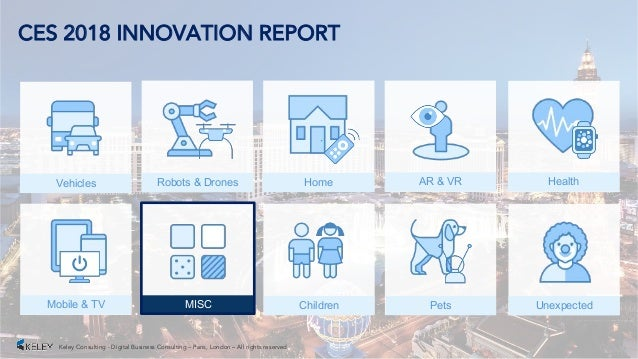 Ces 2018 innovation report top 50 for Innovation consultancy london