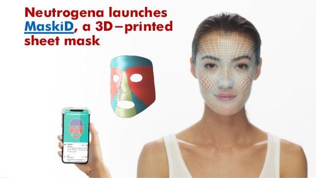 Neutrogena launches MaskiD, a 3D-printed sheet mask