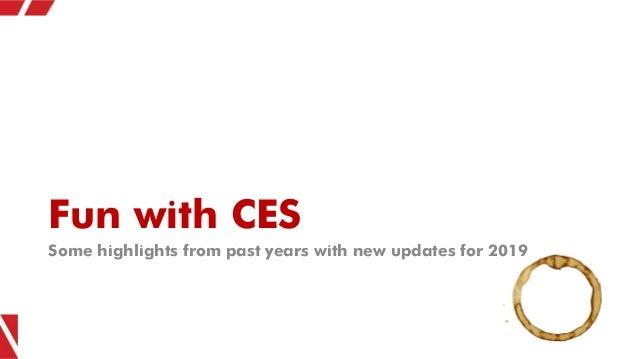 CES 2019 Marketer Recap - Consumer Electronics Show