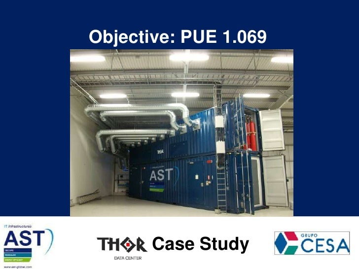Objective: PUE 1.069<br />Case Study<br />