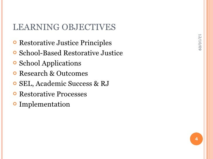 school based restorative justice