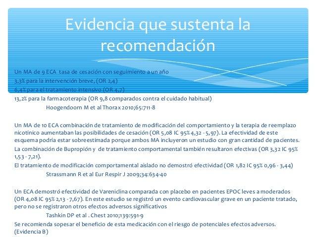 ∗ MA de la Colaboración Cochrane con 5 ECA ∗ Combinación de intervenciones psicosociales con TRN y BD a 5 años comparados ...